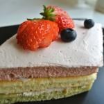 3月上級3色菱ケーキの画像